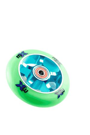 Micro Rad 100 mm Grün/Blau
