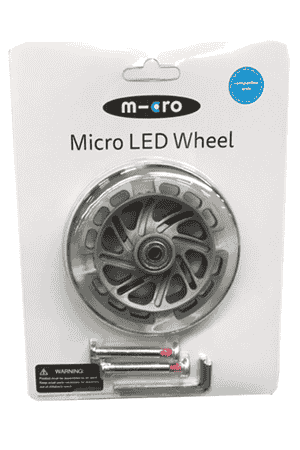 Micro LED Rad Mini Micro vorne 120mm