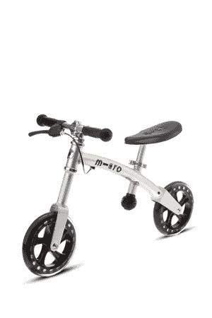 Micro G-Bike Silber