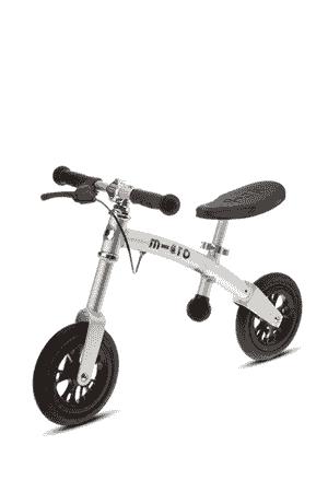 Micro G-Bike Air Silber