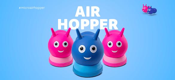 The Micro Air Hopper has arrived
