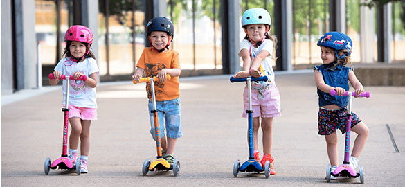 What are the advantages of Micro Scooters for children?