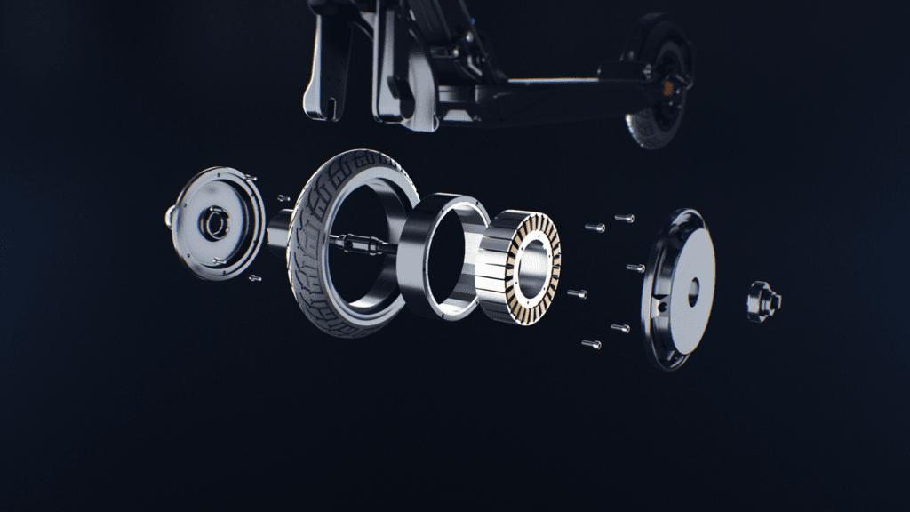 500 Watt maximale Motorenleistung