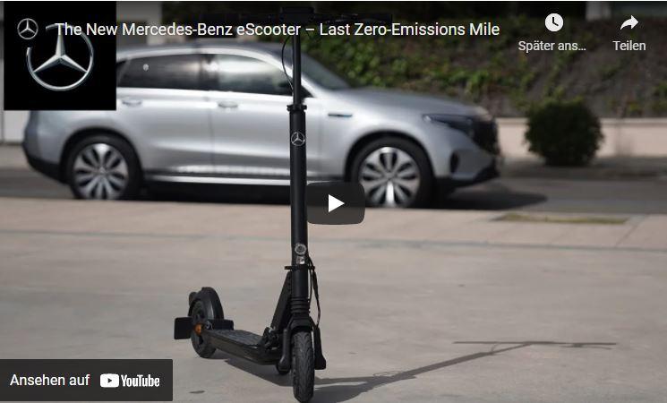 Der neue Mercedes-Benz eScooter